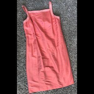 Ann Taylor 100% Silk Shift Dress size 14